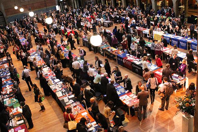 college fair, CIS - Amsterdam
