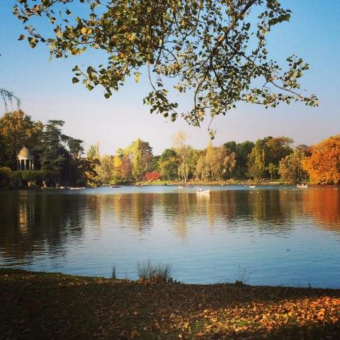 Bois de Vincennes park in Paris.
