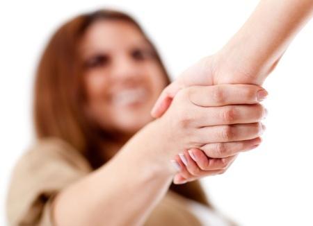 French Etiquette: handshake