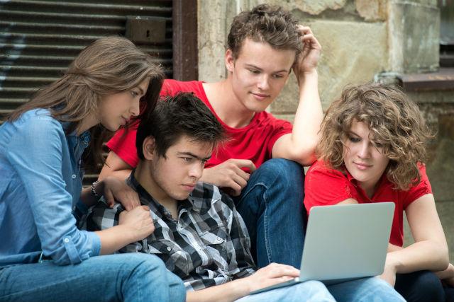 teens online