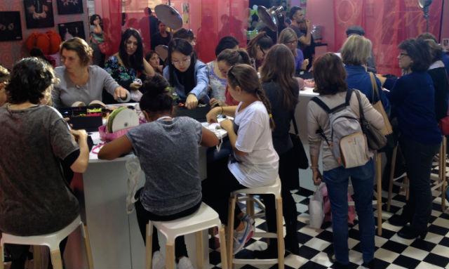 Pink Bra Bazaar Paris workshops in France