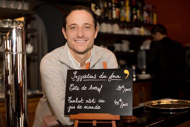 Pierre Meneau chef, Crom'Exquis gastronomic restaurant