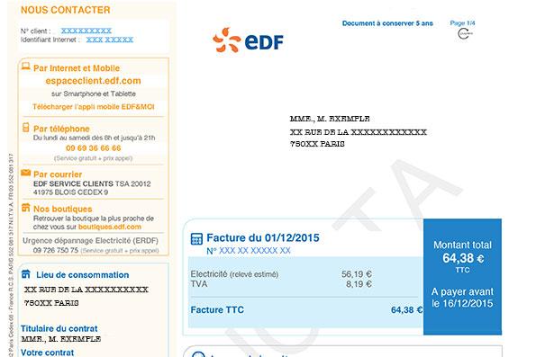 EDF-FACTURE