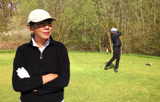 golf wife vs golf widow
