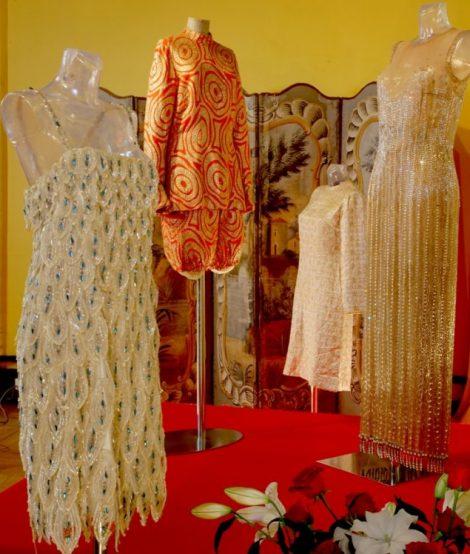 J Baker costumes at Chateau des Milandes. c.Chateau des Milandes 736x913