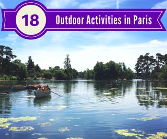 18 outdoor activities
