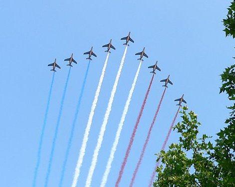 military planes - Bastille day