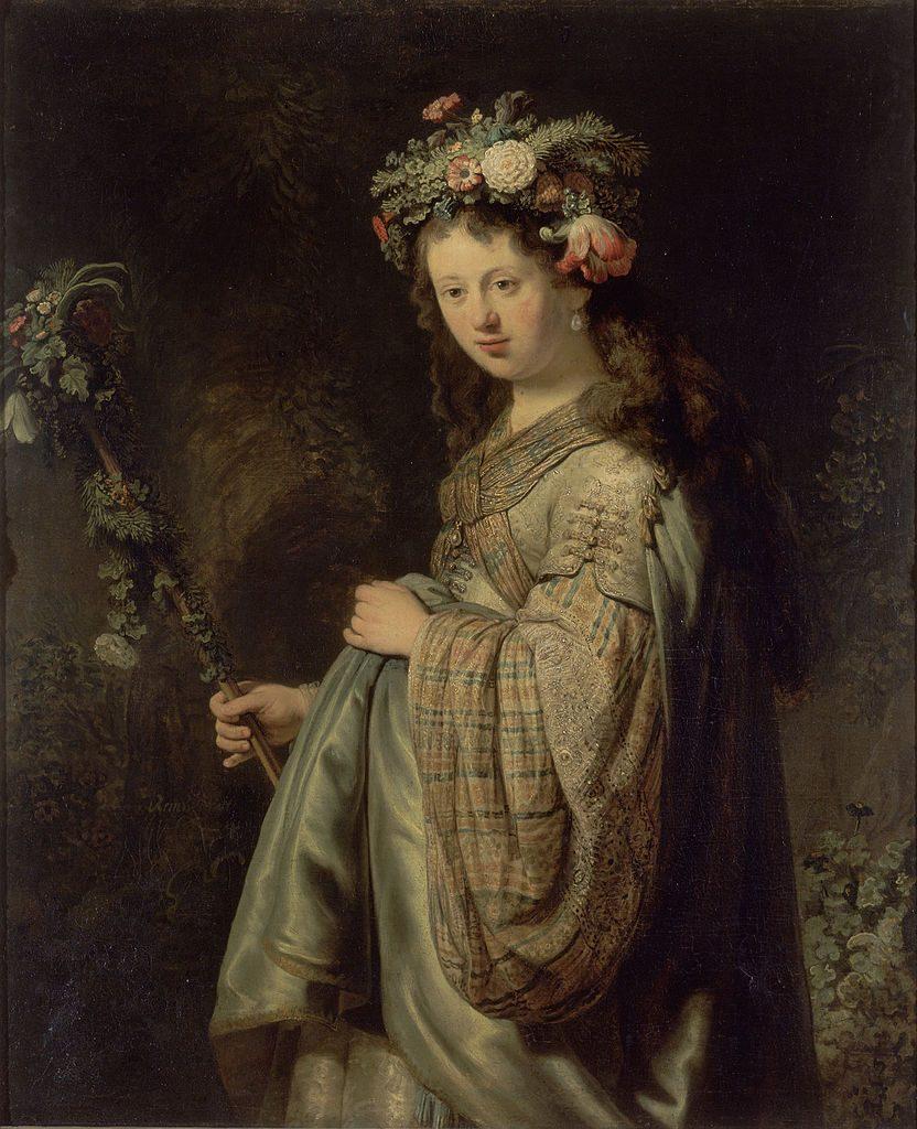 Flora, Rembrandt