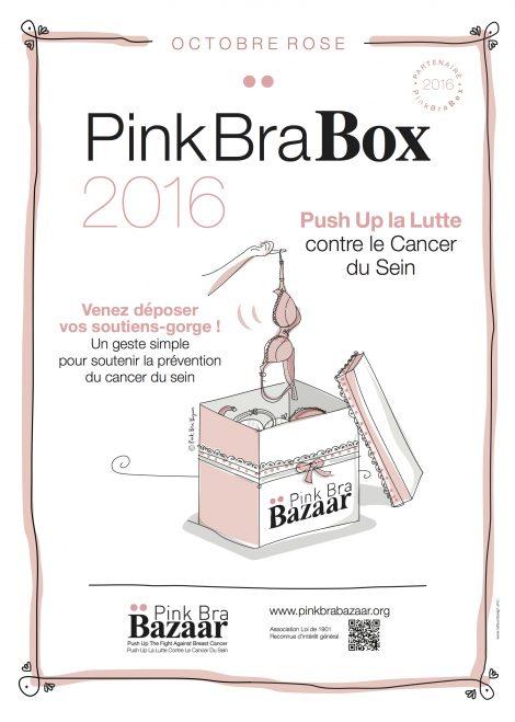 pink bra box
