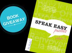 Speak Easy Puzzles book giveaway