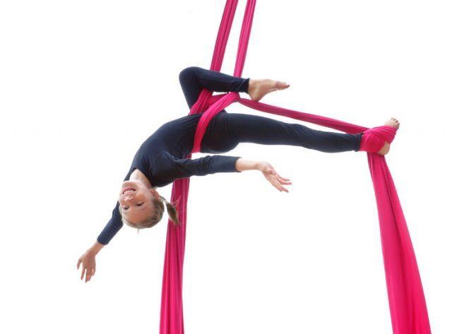 girl circus training
