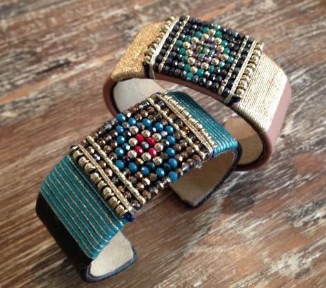 Woven Cuff © Bazar Exquis