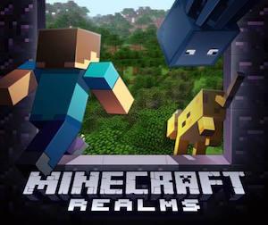Minecraft Realms © Minecraft