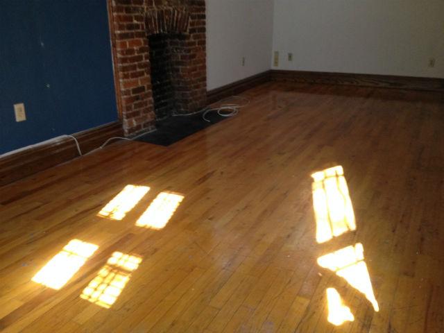 Ken's empty apartment. Photo courtesy of author