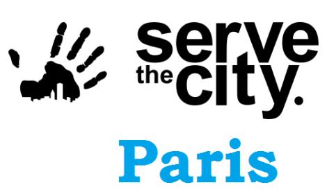 Serve the City Paris logo