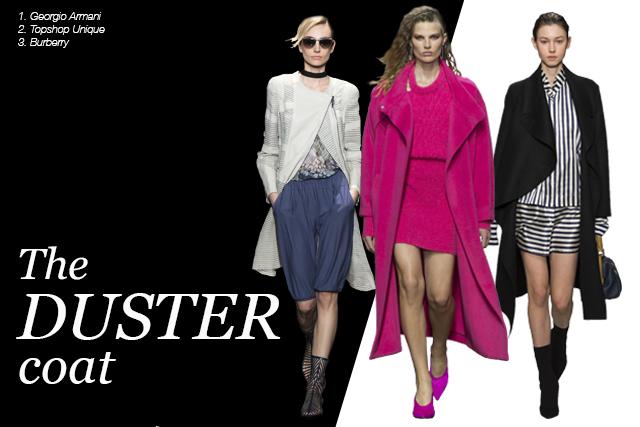 duster coats