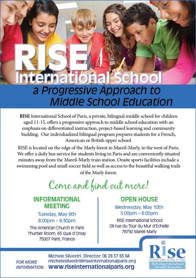 RISE flyer