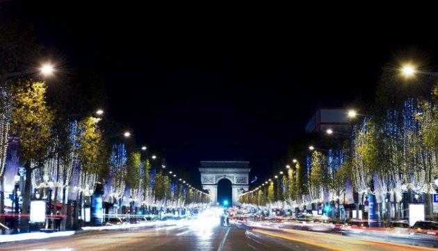 Christmas in Paris - Champs Elysees