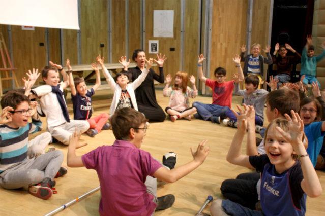 Workshop at American School of Paris