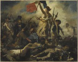 Delacroix Exhibit, Paris