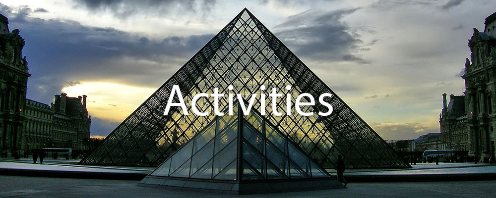 Activities in Paris