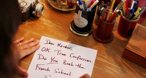 Open Letter to parents with children in French schools.