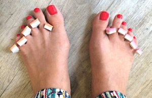 DS Pedicure feet
