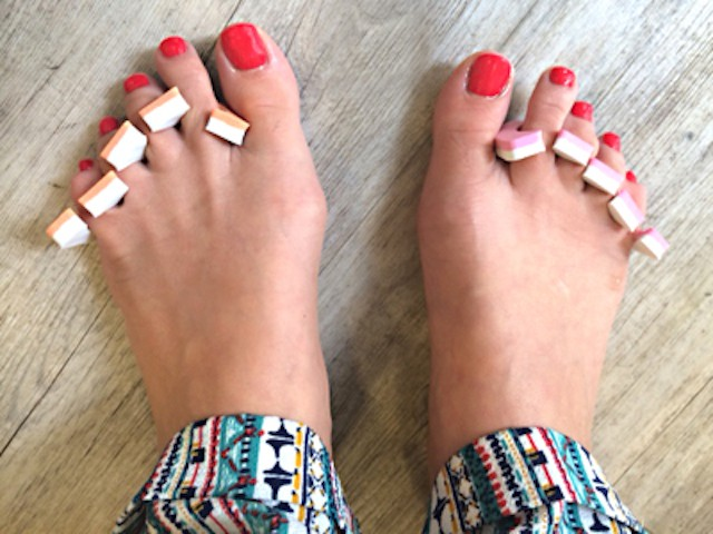 DS Pedicure feet