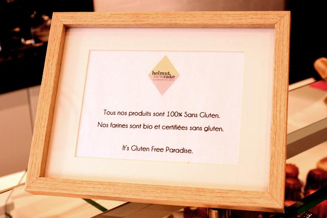 chocolate gluten-free tart from Chambelland Bakery in Paris