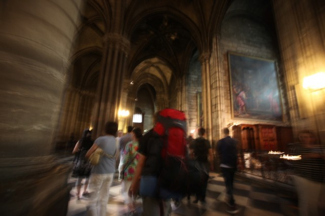Notre Dame Cathedrale interior. © Alexis Duclos
