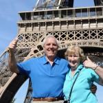 Seniors enjoy visit to Paris.