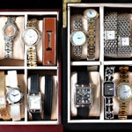 Collection of designer vintage watches