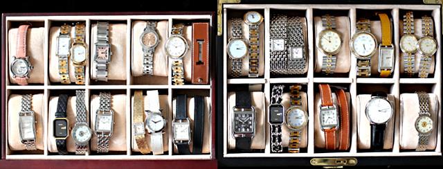 Hermès Cape Cod watch.