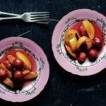 Peach-Cherry-Papillottes