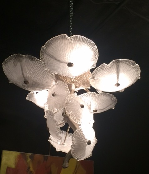 Art Deco-style chandelier
