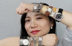 Emily Song and vintage watches