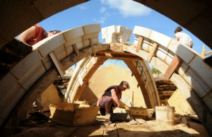 Guedelon: a medieval chateau in the making