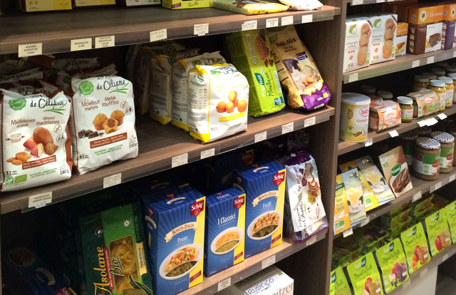 Non gluten groceries