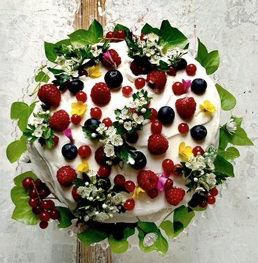 Mimi Thorisson Spring Garden Cake