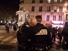 Policeman in tears after Paris attacks