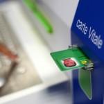 Carte Vitelle social security card used in France