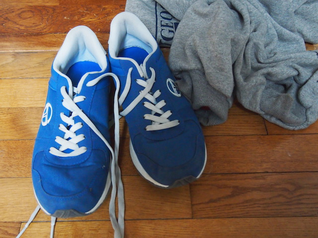 parenting teens: sneakers