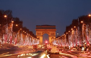 Christmas in Paris: Champs Elysees
