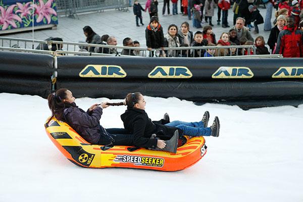 Christmas in Paris: winter sports