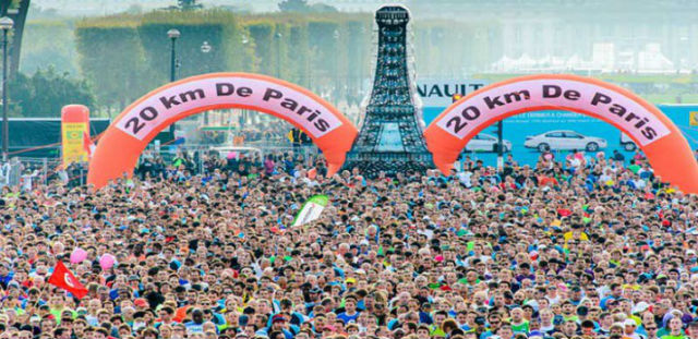 Photo courtesy of 20 km de Paris race