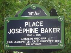 Place Josephine Baker in Paris