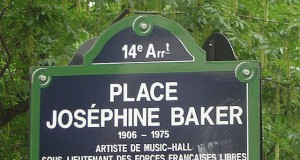 Place Josephine Baker in Paris