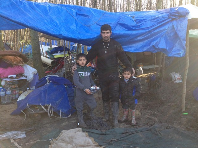refugee camps provide makeshift shelter