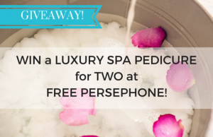 pedicure giveaway