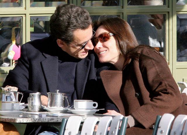 Nicolas Sarkozy and Carla Bruni © imgkid.com